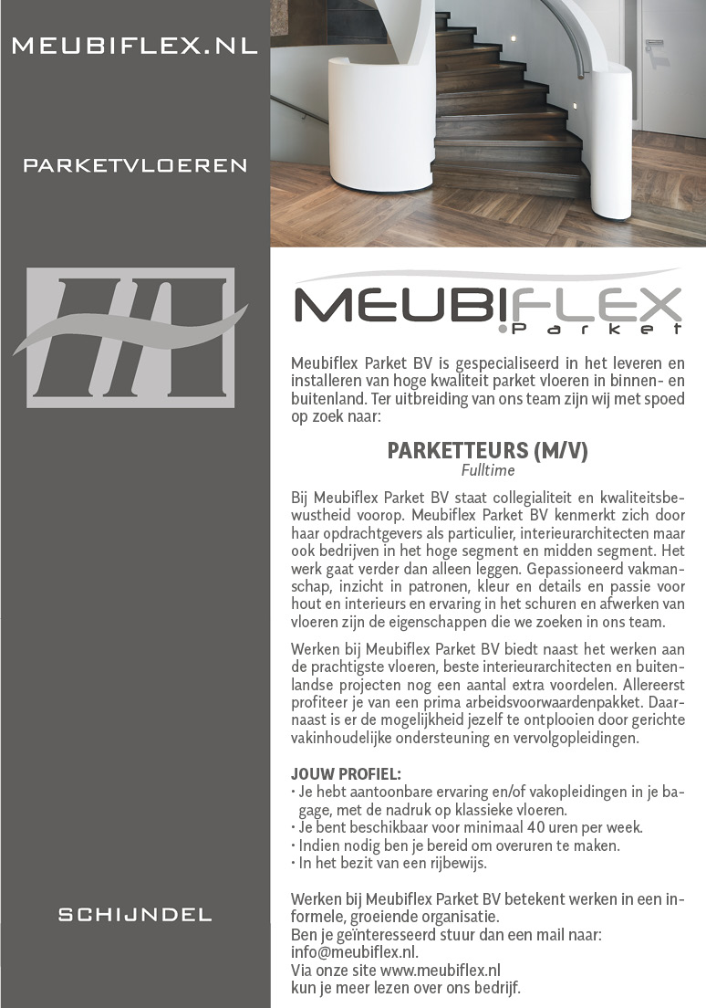 personeelsadvertentie-meubiflex